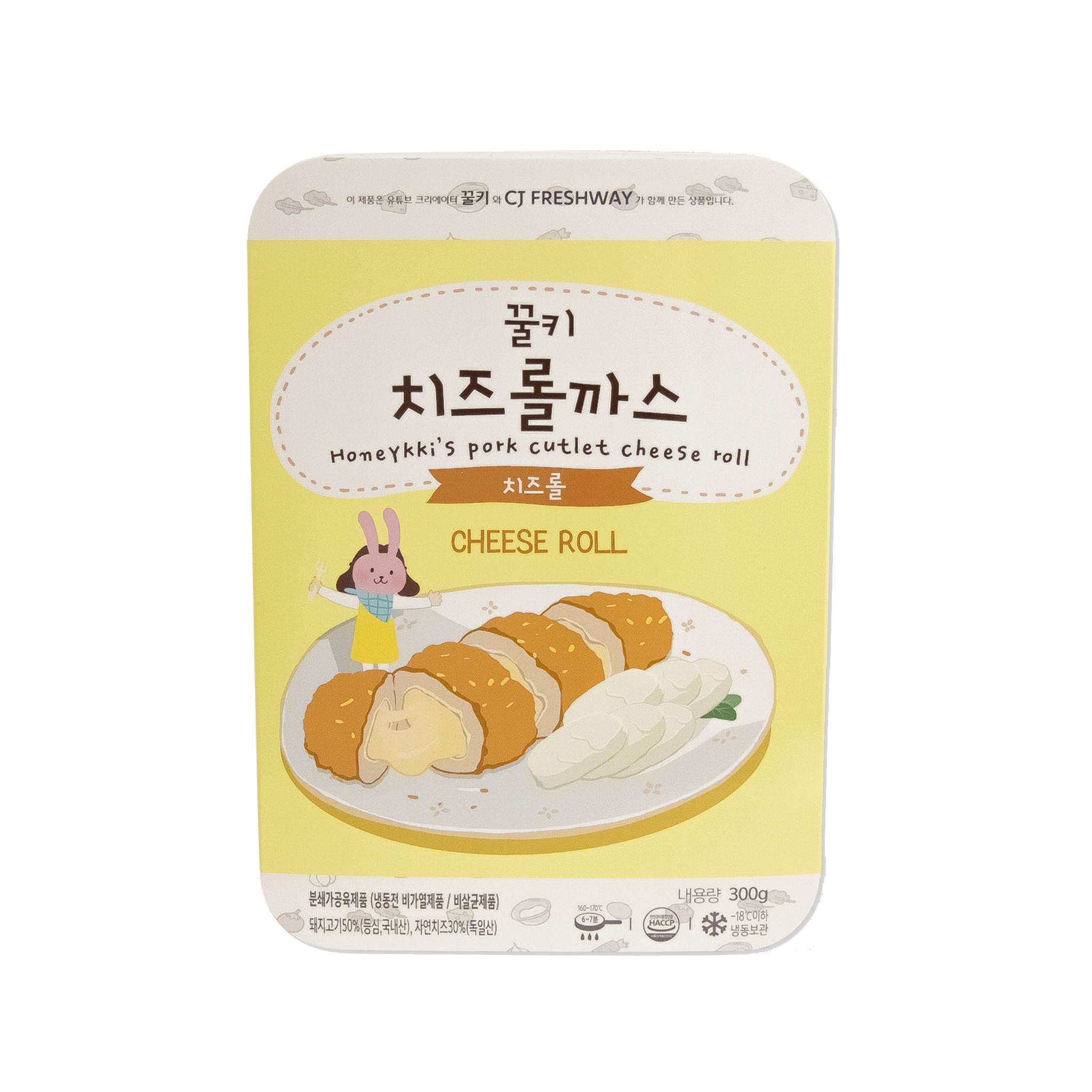 [CJ프레시웨이] 꿀키 치즈롤까스