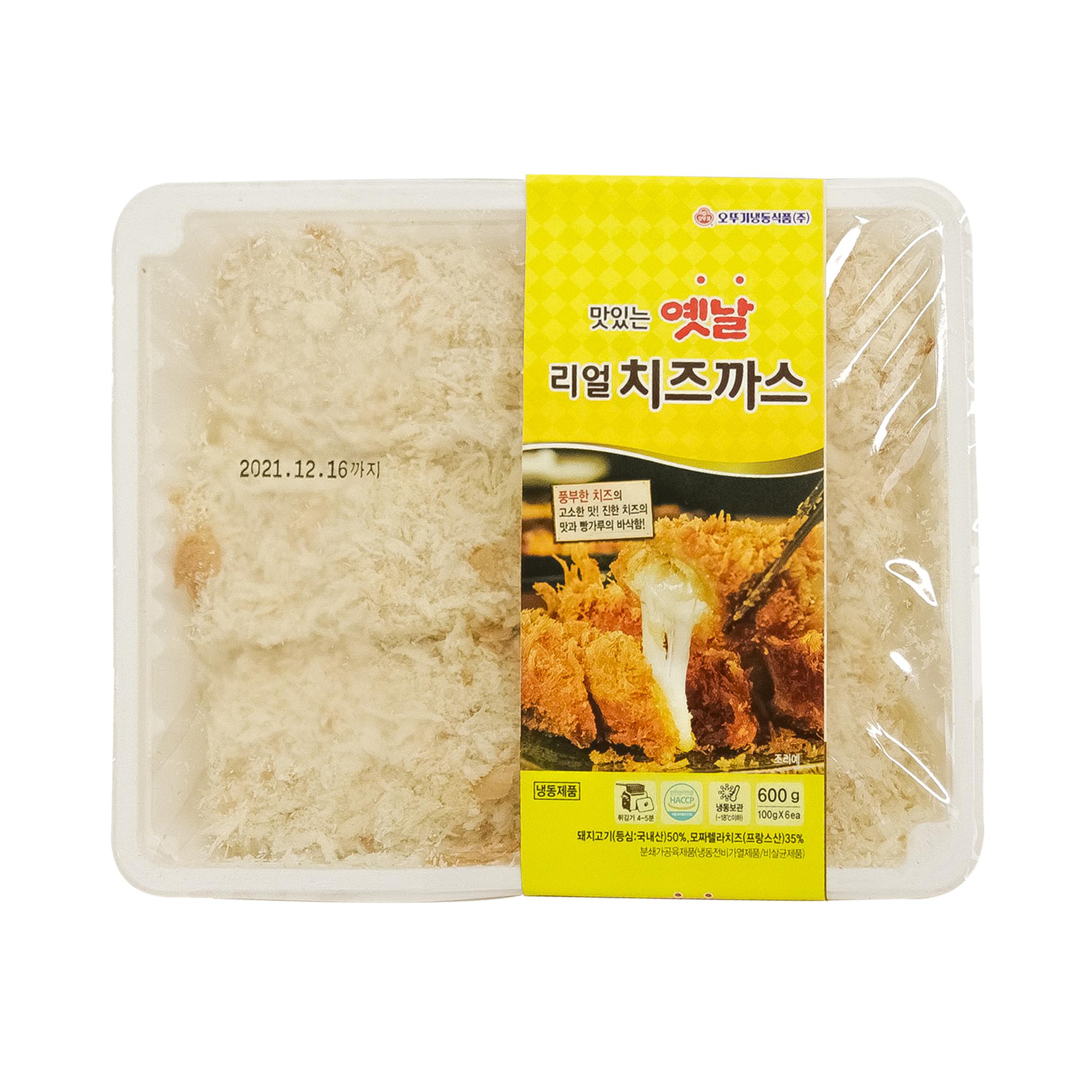 [오뚜기냉동] 맛있는 옛날 리얼치즈까스